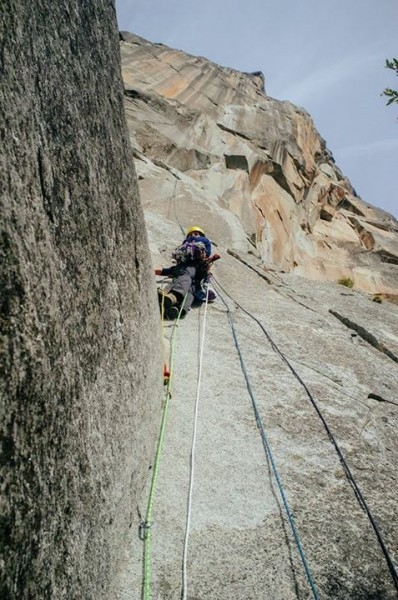 On lead on Pitch 1, October of 2015.