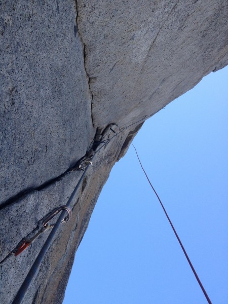 Cleaning Pitch 3 in April 2015 on my first Prow attempt.