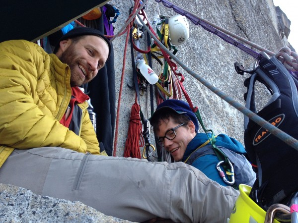 Anchorage Ledge, April 2015 with my good friends Isaac and Michael, wh...