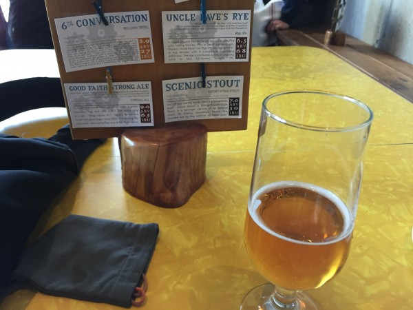 6th Conversation and Ploughmans Lunch at Discretion Brewery, Santa Cru...