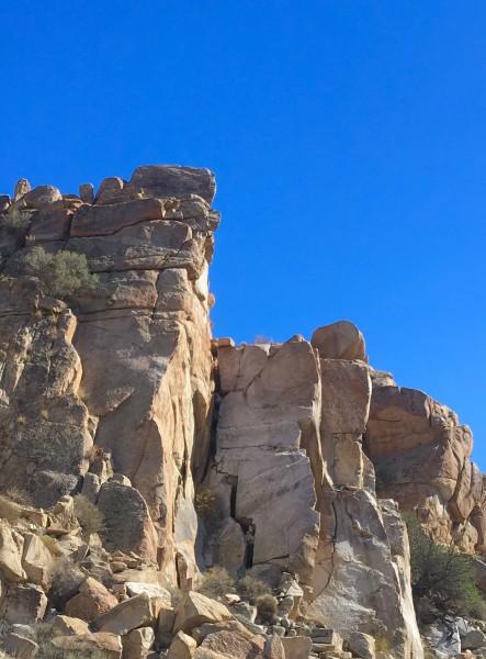 Mini getaway crag