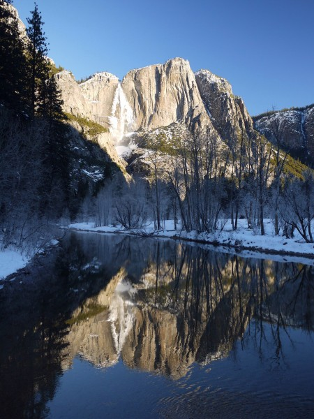 for Mouse, the Merced River and Yosemite Falls