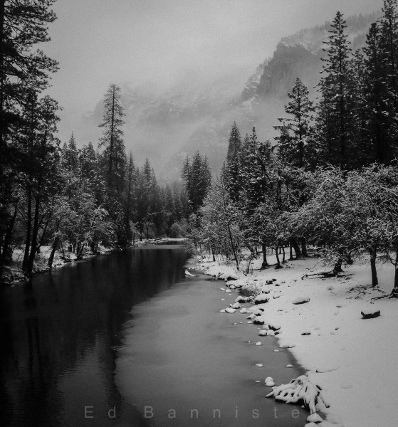 Thin Ice, Merced River, Yosemite
