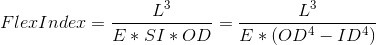 <br/> Flex Index.  In the first one, the SI is the same as the section in...