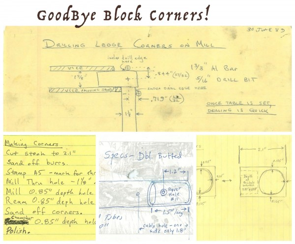 Goodbye Block Corners!  Say, Donna Know You?