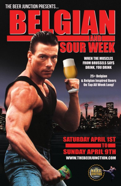When the Muscles From Brussels says drink... You drink.