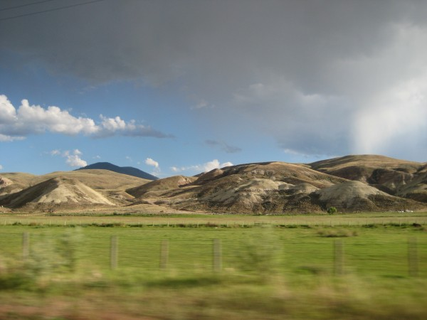8 or so miles south of Salmon on the way to Leadore.  Those dirty moun...