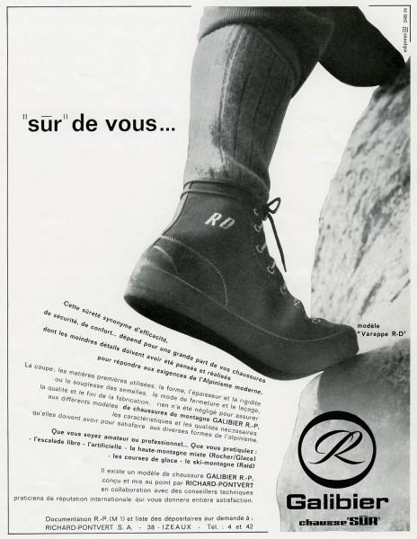 La Montagne & Alpinisme 1966