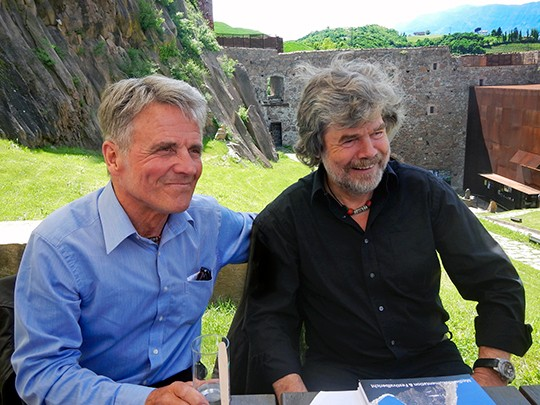 Peter Habeler & Reinhold Messner celebrating life!