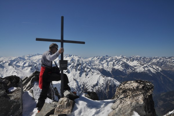 Klemens on the summit