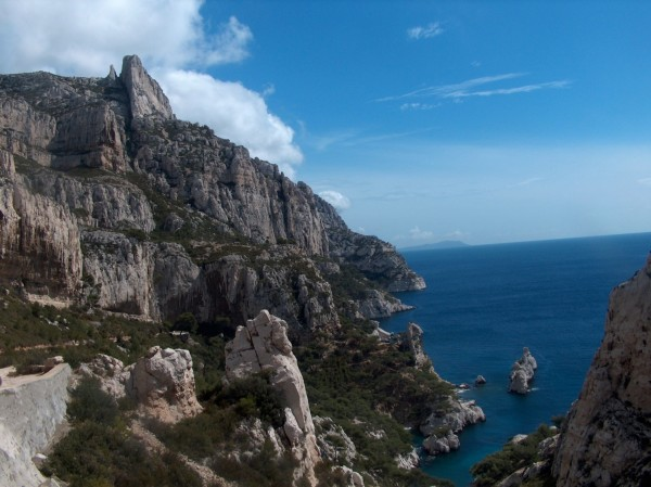 The Calanques, Marseille, on a sunny day...