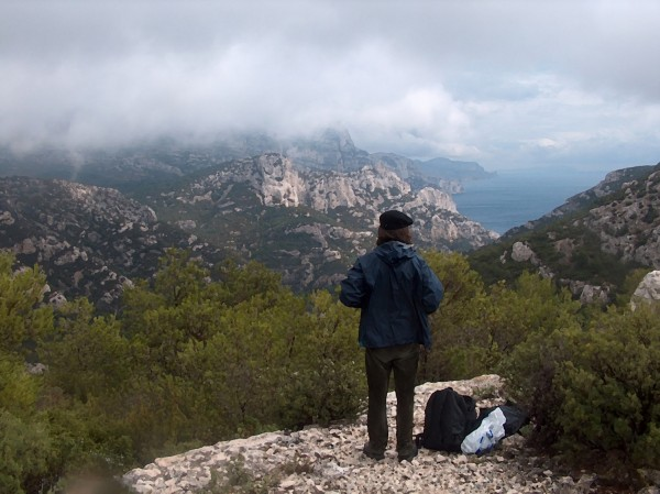 The Calanques, Marseille, on a rainy day... Rainy days are few and the...