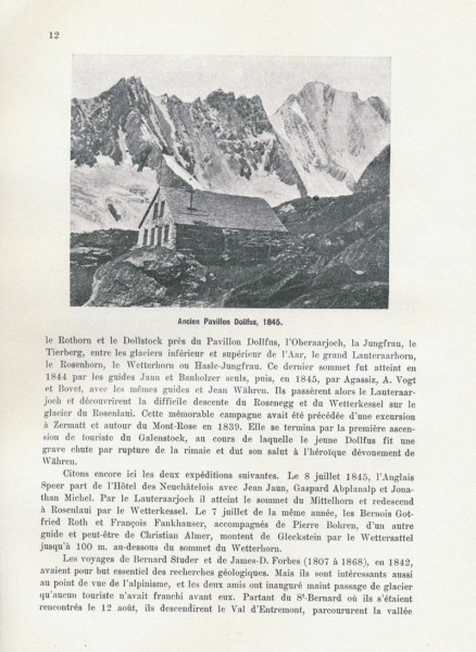 Les Debuts De L'Alpinisme (Switzerland)
