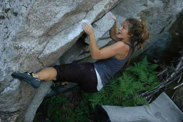 Nearby bouldering