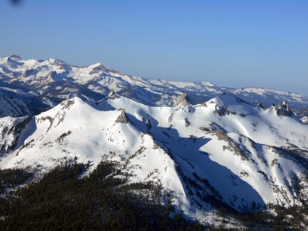 The Tuolumne High Country - Unicorn, Cockscomb, Matthes, Echo Peaks