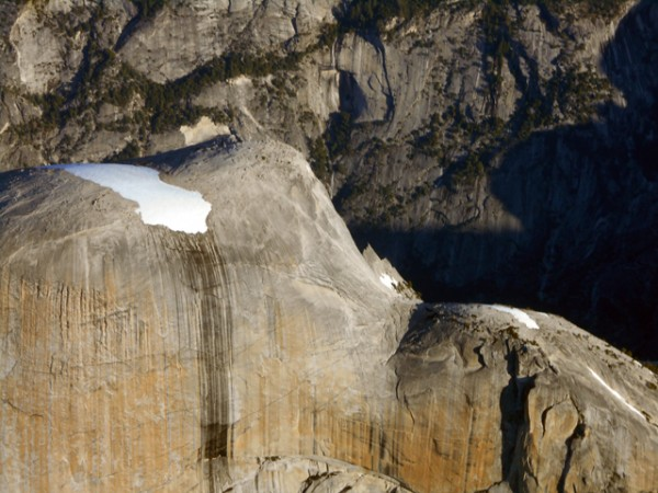 Half Dome cables are dry...