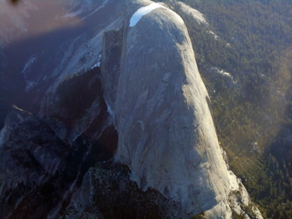 The Southwest side of Half Dome