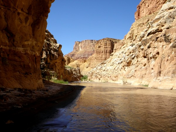 The intermediate canyon between upper Chute Canyon and lower Chute Can...
