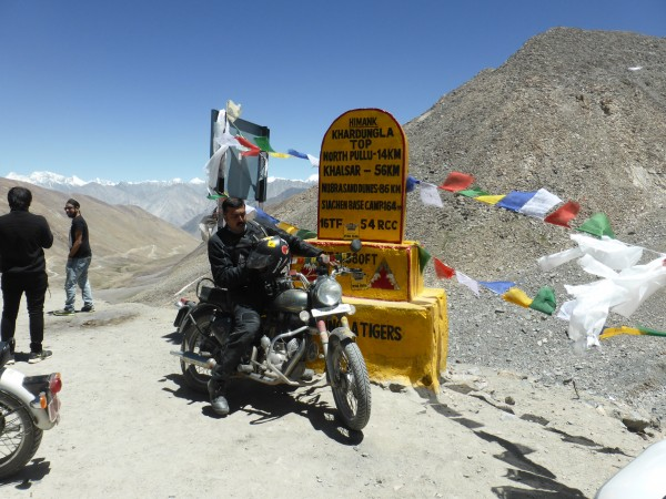 this claims to be the highest motorable road in the world- an hour or ...