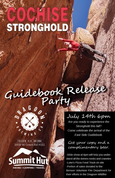 Cochise Stronghold Guidebook Release