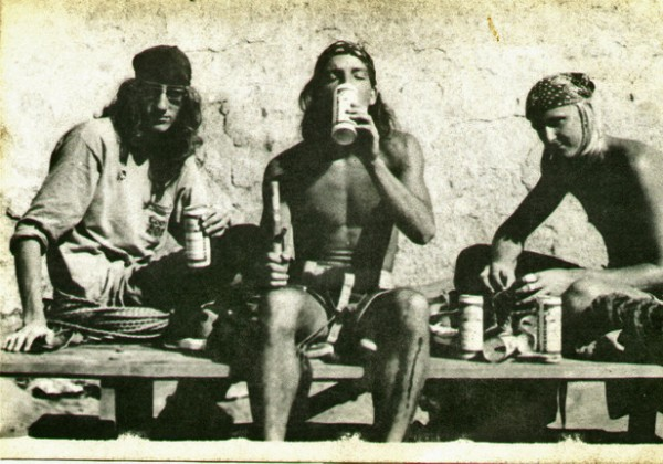 Base of Big Rock, 1977
