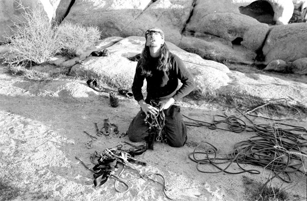 Racking up at Joshua Tree, 1982