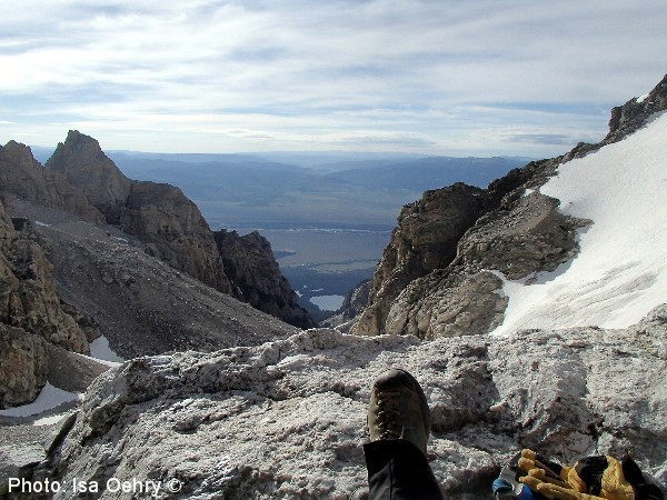 Resting at the Upper Saddle