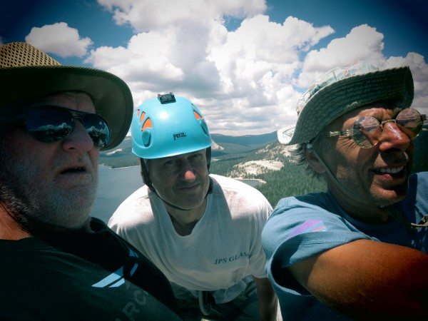 TWP, skcedric & Moose on the summit of Voyager Dome.  My!  Aren't We G...