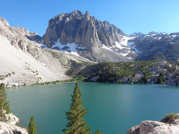 Temple Crag and Third Lake