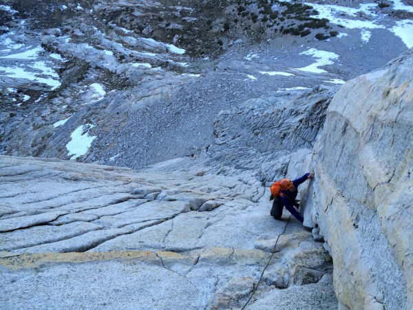First pitches of West Ridge of Mt. Conness