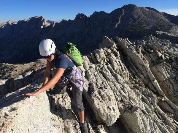 North Ridge of North Peak