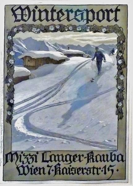Mizzi Langer - Illustration: Gustav Jahn