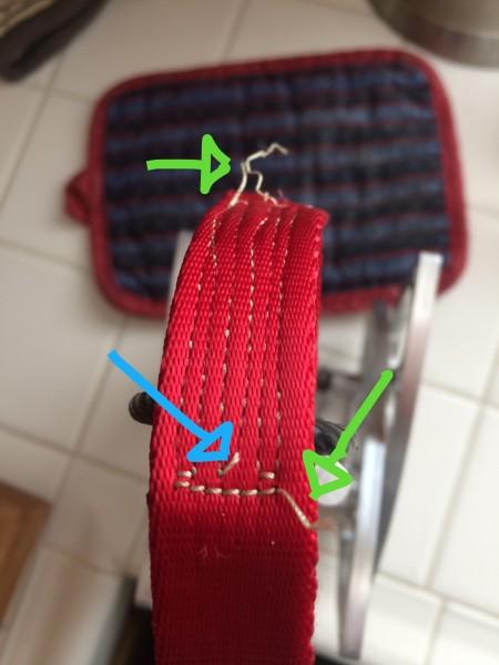 Exterior of Merlin cam sling