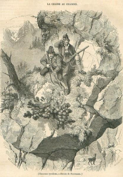 Chamois hunting (1845)