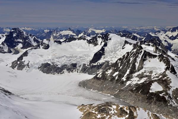 Snowside Mountain, Iroquois Peak, Pearl Peak, Little Bassard, Styx Mou...