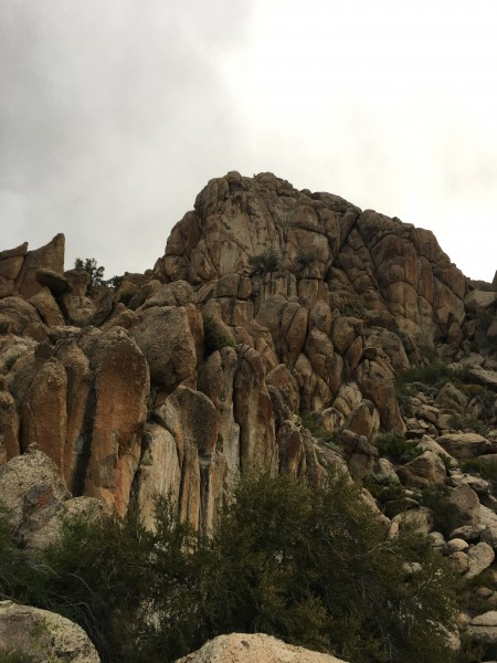 Three new routes on the upper headwall of this formation.  5.11 top ro...