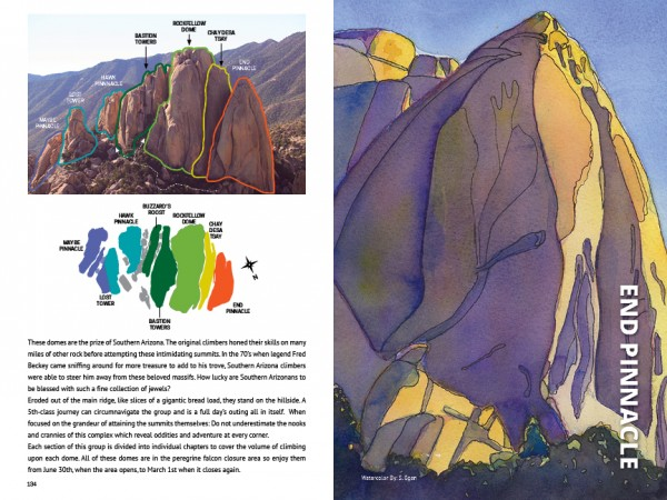 Cochise Stronghold Guidebook, End Pinnacle, Rockfellow Group