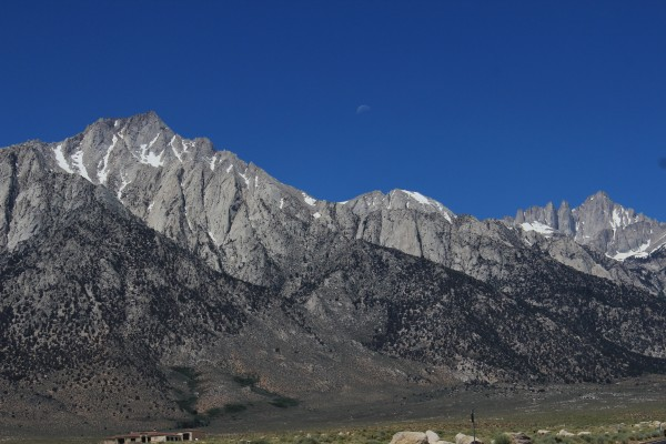 Lone Pine Peak, Whitney and the Moon