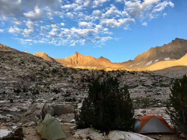 Mt. Haeckel from Sapphire Lk