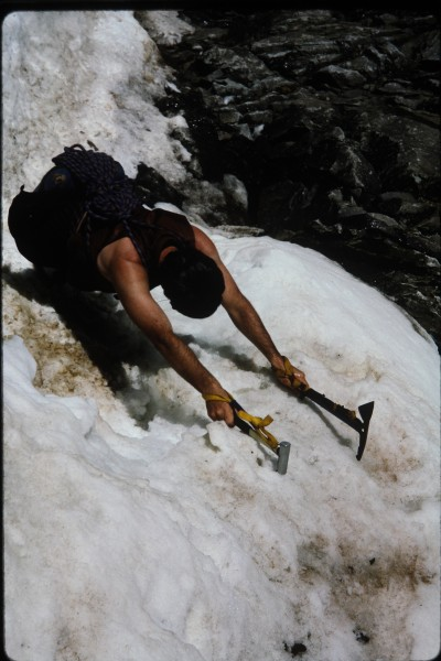 Shirtless ice climbing, what is not to like about that!