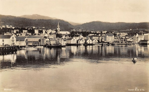 Molde at an earlier time