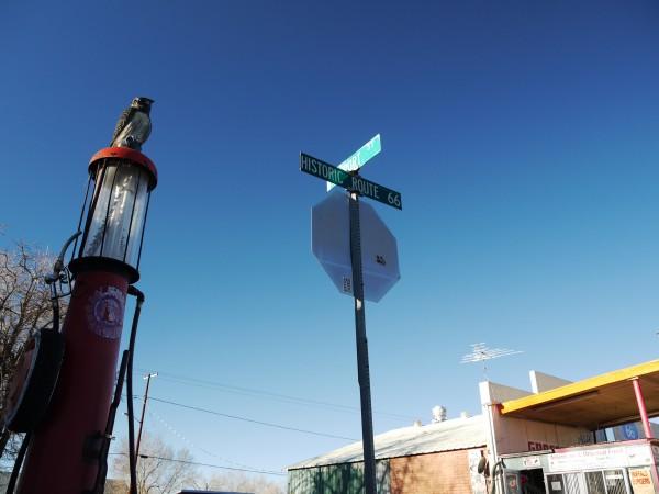 downtown Seligman, AZ