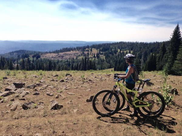 Princess Trail by Malheur NF in Oregon after the Total Eclipse.