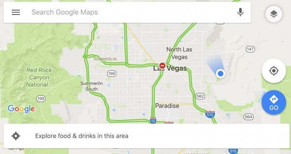 I could end up in Arizona if Route 159 had not dead ended here.