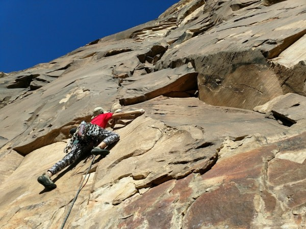 I asked my partner not to put me on belay until I made my first clip b...