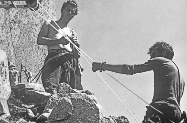 Powell & Harding, Dolt Ledge, '58.  Photographer? Don't remember!