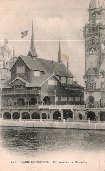 Paris Expo 1900 - The Norwegian pavilion