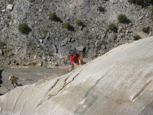 Honnold on the Flying Butress