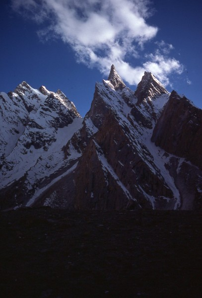 Lobsang Spire from Mustagh Meadows