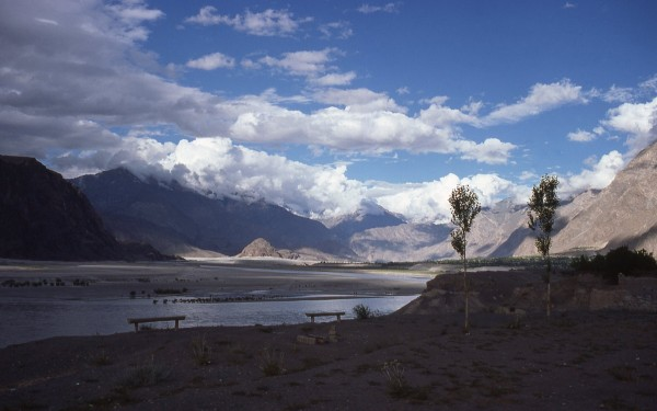 The Indus River from the Circuit House